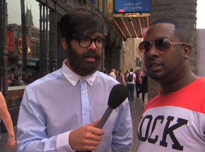 Drake undercover interviewing people about… DRAKE!